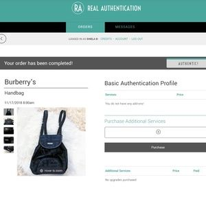 Burberry Bags - Authentic Vintage Burberry Backpack